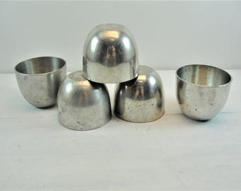 Stieff Pewter P-33 Jefferson Cup Shot Glass Size Set of 5