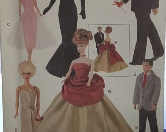 Vogue Vintage Fashion Doll Clothing Pattern