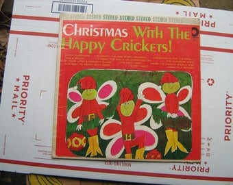 Christmas with the happy crickets on Design records  # SDLP-X-11