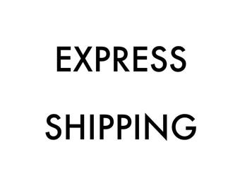Express Shipping Listing to purchase Express Crafting and Dispatch - 1 week guaranteed