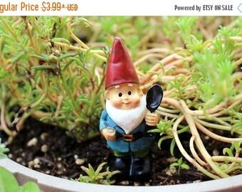 Save25% Small Garden gnome-Resin gnome-fairy garden decor-Terrarium supplies
