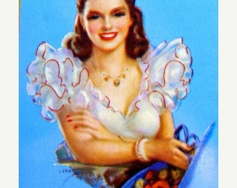 ONSALE Vintage Pin Up Lot Mary Lou was the biggest Show Off