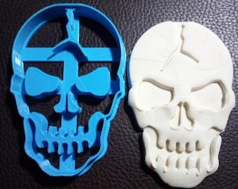 emporte piece crâne Halloween