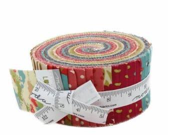 SUMMER SALE - Jelly Roll - Lucky Day - MoMo - Moda Fabric
