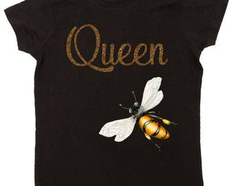 Mom Shirts Queen Bee T-shirts  Great for new Moms  by Mumsy Goose