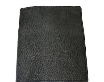 15% OFF Dark Grey Leather Passport Cover For Men & Women - Accessories