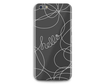 Hello Fiber Phone Case - Free shipping USA and Canada