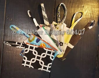 Zippered Wristlet Bag
