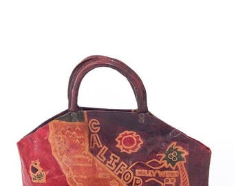 40% OFF CLEARANCE SALE The Goin' Goin' Back Back to Cali Cali Leather Purse
