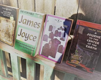 Quartet of Vintage Paperbacks Classics Book Bundle