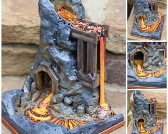 Volcano Toy Etsy