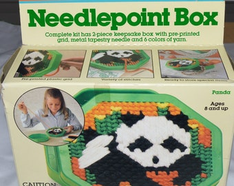 Vintage Fisher Price Needle point needlepoint craft kit complete in box