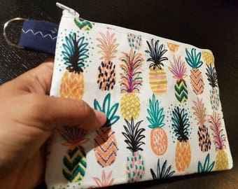 Pineapple Handbag /Cosmetic Bag