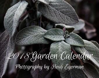 Gemüsegarten kalender  Garden calendar   Etsy