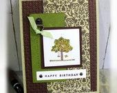Birthday Card- Stampin' Up happy Birthday