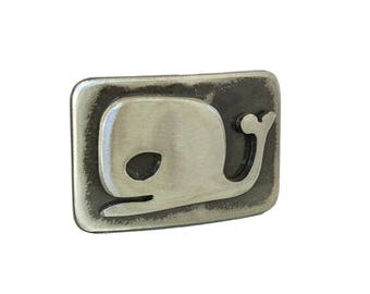 Outlaw Whale Belt Buckle / Angry Whale / Belt Buckles for Men / Gift for Whale Lover / Sealife / Buckles for Her /Buckles for Him