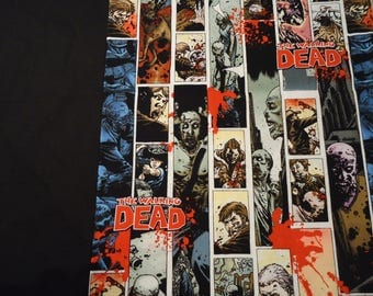 Walking Dead Panel Shirt, Made to Order In Your Size, Choose Men's small up to 6X