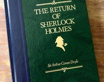Book Clutch The Return of Sherlock Holmes by Sir Arthur Conan Doyle Mystery Book Purse Clutch Made to Order