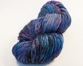 SALE!! Speckle - Color Me Cosmic - Hand Dyed Superwash Merino Sock Yarn (Experimental Colorway)
