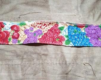 Vintage Ribbon. Vintage Wire Ribbon. Purple Pink Blue Ribbon. 1970s Ribbon. Vintage Trim. Berries. Vintage Supplies. Vintage Sewing Supplies