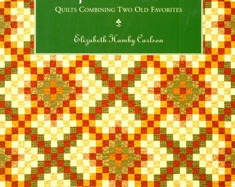 Trip to Ireland Quilts Combining Two Old Favorites Nine Patch Strip Quilting Color Variations Craft Pattern Book