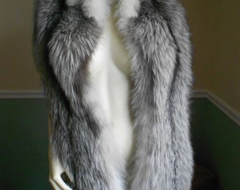 Reserved For Juliet Do Not Buy Fox Fur Stole Wrap / Fox Shawl / Fox Stole