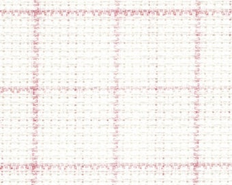 Aida 14 count Magic Guide Aida Blanc from DMC 75 x 44 cm-cross stitch fabric, gridded fabric, easy guide for cross stitch