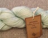 WATERLILLY  merino superwash nylon hand painted yarn dyed soft