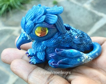 RESERVED** Polymer Clay Gryphon - Neve
