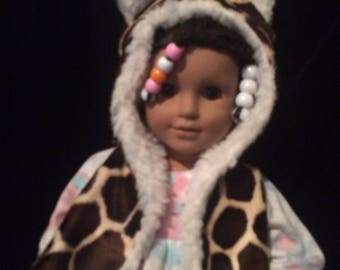 Winter Hat for AG or 18in. Dolls