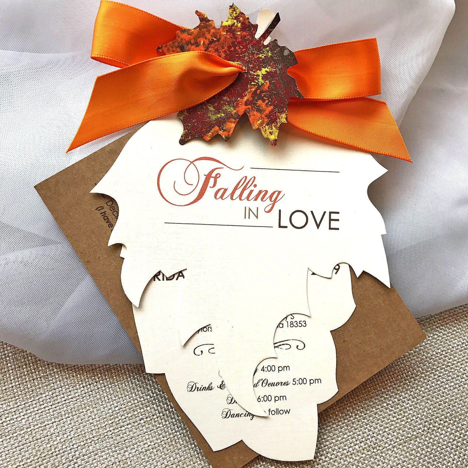 Fresh November Wedding Favors | Wedding