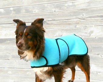 Dog Cool Coat custom made just for your dog with velcro front closure