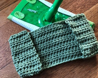 Solid Colored - Crocheted Swiffer Covers - Set of 3