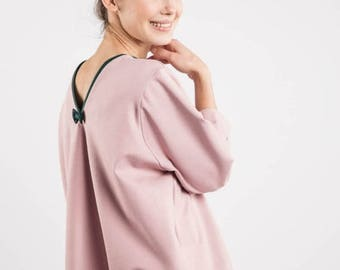 SALE - Loose top   Rose blouse   Comfy blouse   LeMuse loose top