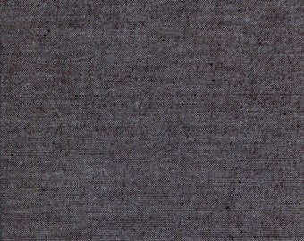 "Studio E - Peppered Cottons - 108"" Wide Back - Charcoal - Fabric by the Yard PEPPER108-14"