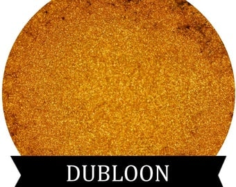 DUBLOON Gold Eyeshadow Makeup