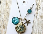 Beach Please Diffuser Necklace