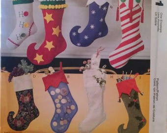 McCall's #2991 new uncut stocking pattern