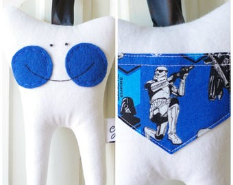 Tooth Fairy Pillow for a Boy (Star Wars)-READY TO SHIP