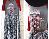 Sale L Hamsa Hand boho maxi dress, Bohemian gypsy maxi dress gypsy soul dress, Gypsy hamsa hand, summer sale boho dress True Rebel Clothing
