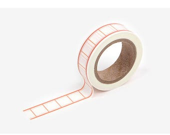 Copy paper printed Korean washi tape  for scrapbooking, decorations (15mm x 10m)
