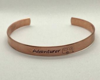 Adventurer Copper Cuff
