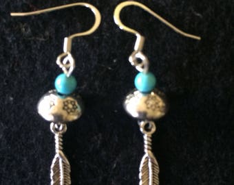 Native American feather earrings.