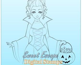 Vampire Digital Stamp
