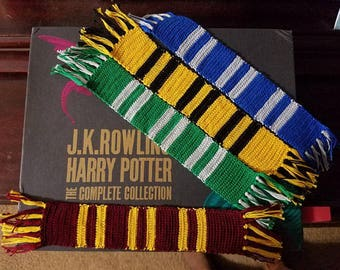 Harry Potter ANY 3 Bookmark Scarves Buyers Choice