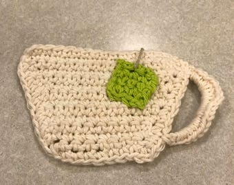 Crochet Tea Cup Coaster