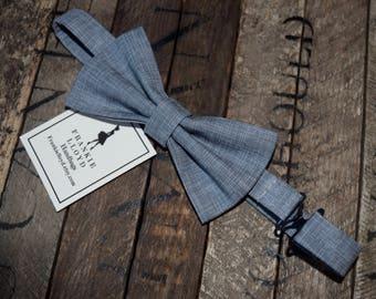 Bow Tie, Men's Bow Tie, Boy's Bow Ties, Wedding Ties, Wedding Gifts, Groomsmen Gifts, Bridal Gifts, Gray Ties, Grey Ties