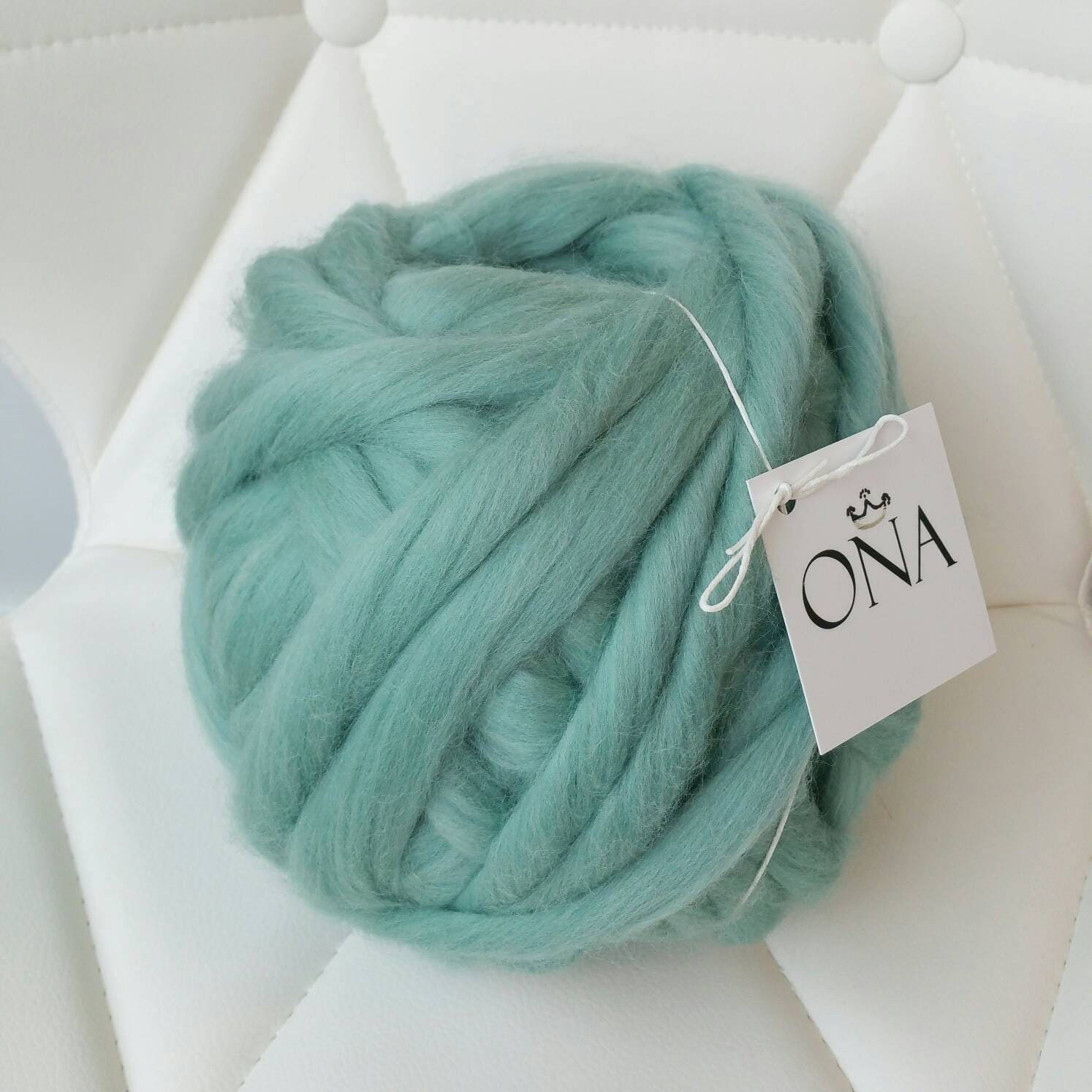 Xxl Knitting Yarn : Giant yarn g xxl chunky merino wool hand spun arm knitting