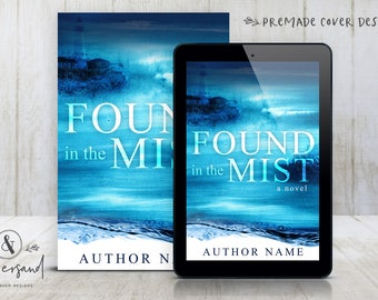 """Premade Digital eBook Book Cover Design """"Found In The Mist"""" Thriller Mystery Suspense New Adult Literary General Fiction"""