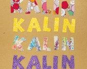 iron on Kalin - 2 colors